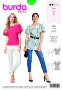 6429 Burda Pattern: Ladies Top